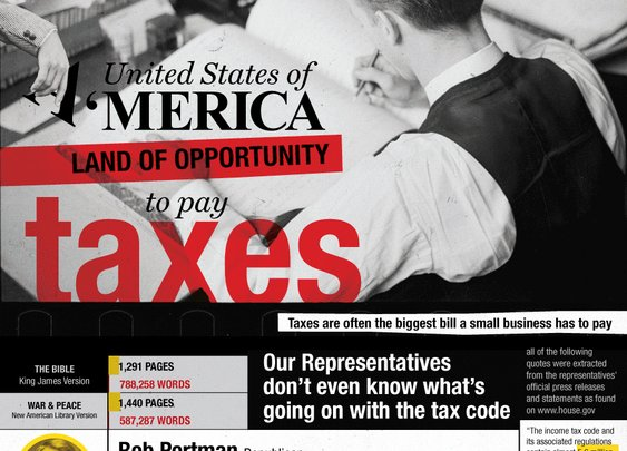 America, Land of Opportunity... and Taxes