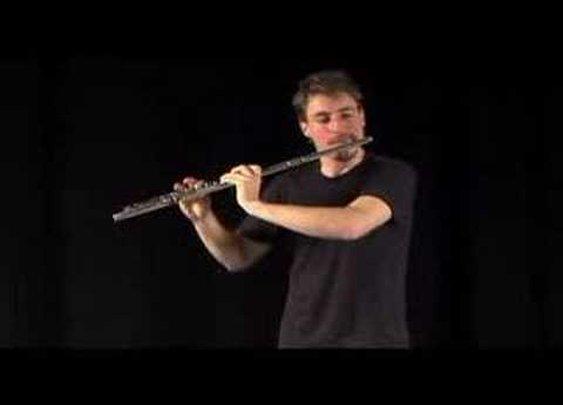 Beatboxing flute inspector gadget remix - YouTube