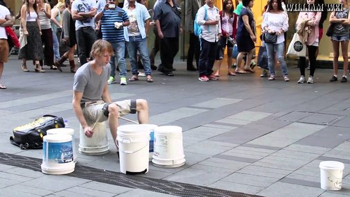Gordo the Street Drummer