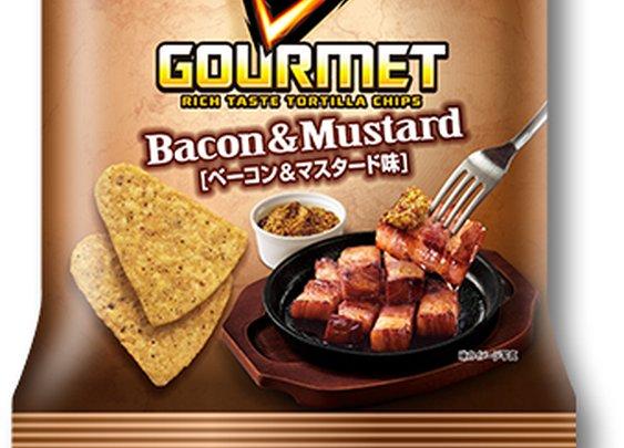 WANT!! Doritos Gourmet Bacon & Mustard Tortilla Chips