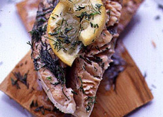 Techniques: Cedar Plank Salmon
