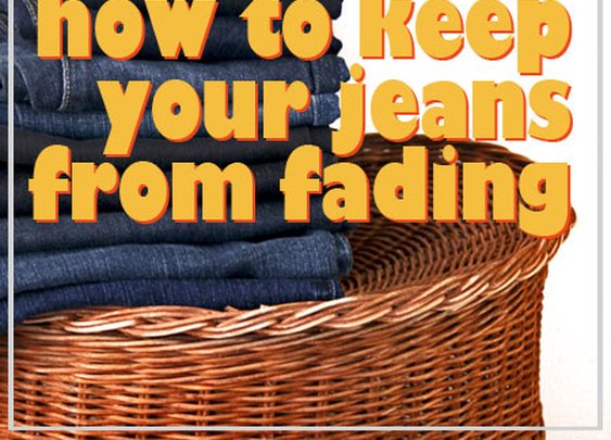10 Tips How to Keep Your Jeans from Fading
