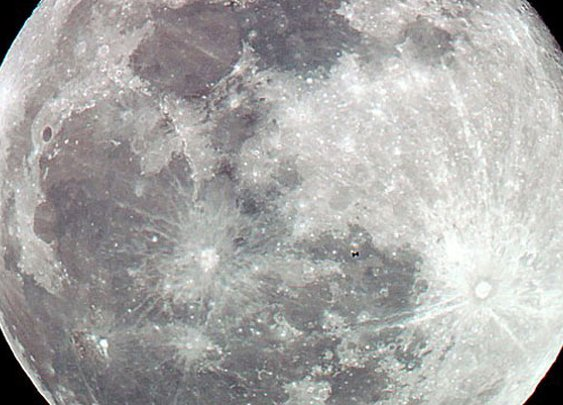 ISS shown crossing the MOON in incredible photographs | Art Bell