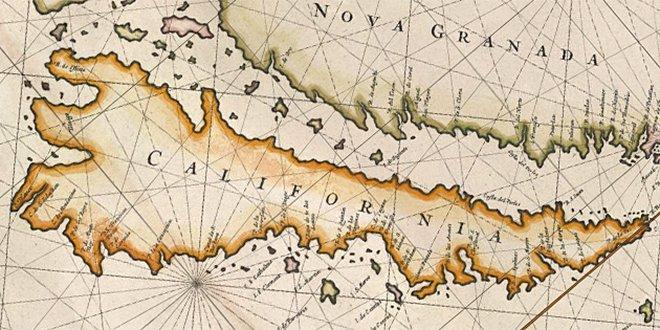 18 Maps Of California As An Island