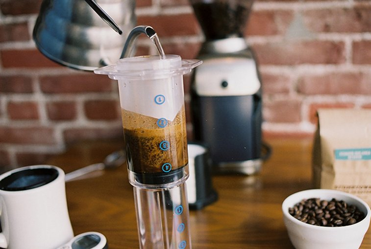 The Invention of the Aeropress