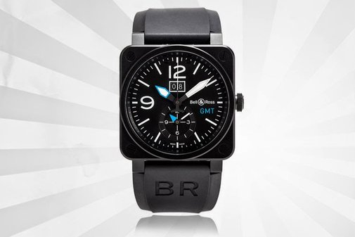 BELL & ROSE WATCH GALLERY BR 03 GMT