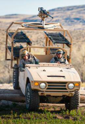 Boeing's Phantom Badger packs a lot of combat vehicle into a small package