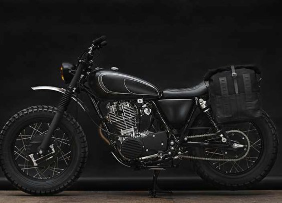 Yamaha SR400, as seen by the Wrenchmonkees | Baxtton