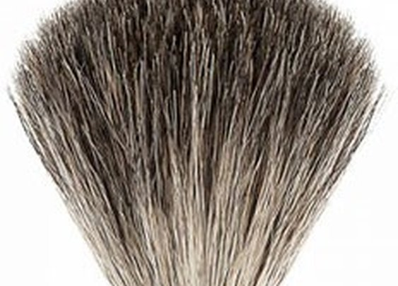 Muhle VIVO Plum Tree wood Pure Badger Shaving Brush