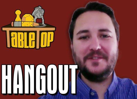 Wil Wheaton Hangout: Season 3 of TableTop! - YouTube