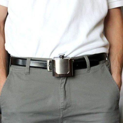 A mans belt