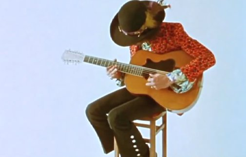 Jimi Hendrix Unplugged: Two Rare Recordings of Hendrix Playing Acoustic Guitar