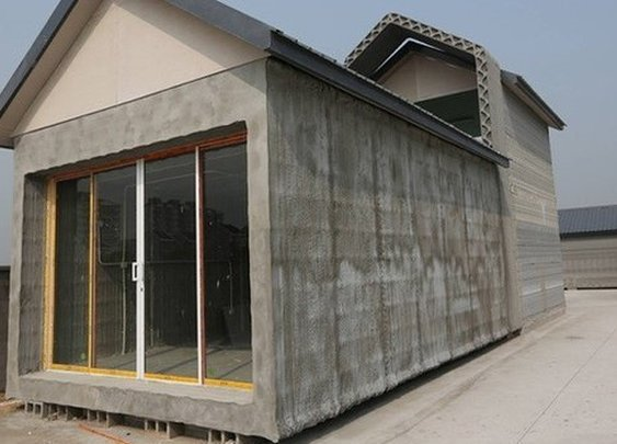 China: Firm 3D prints 10 full-sized houses in a day
