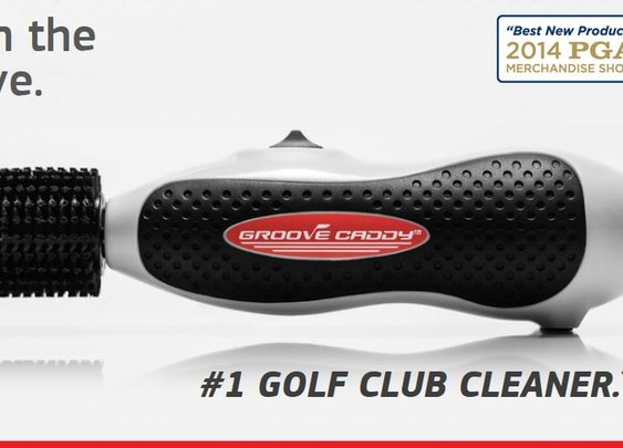 The Groove Caddy Club Cleaner by More Golf Today Golf Deals