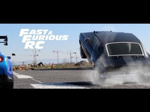 Fast & Furious RC, An Epic 'Fast & Furious' Car Chase Scene Made with Remote Control Cars