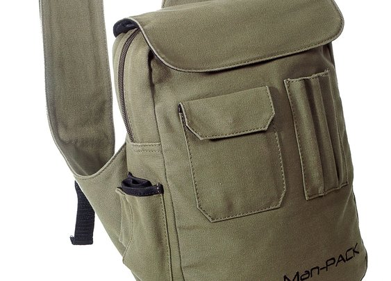 Pack light. Be prepared. Man-Pack 2.0 the ultimate concealed pack.Man-PACK