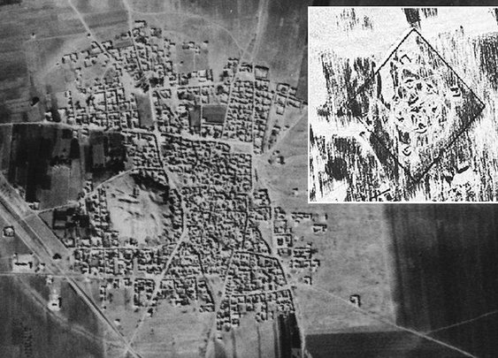 Lost cities of Middle East uncovered by Cold War-era spy satellite photos | Mail Online