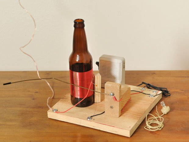 Make Your Own Bottle Radio