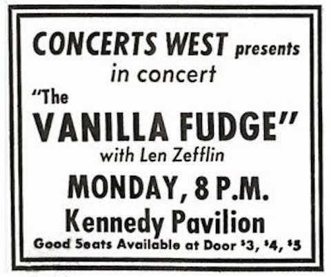 Hear Led Zeppelin's First Recorded Concert Ever (1968)