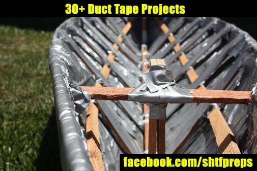 30+ Duct Tape Projects - SHTF Preparedness
