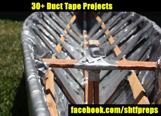30+ Duct Tape Projects - SHTF Preparedness