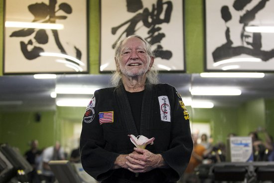 Willie Nelson Celebrates His 81st Birthday by Earning a 5th-Degree Black Belt