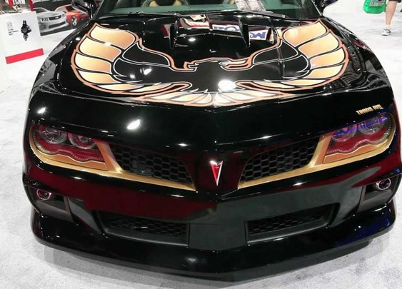 Trans Am Depot's HURST TRANS AM at the 2012 SEMA Show - YouTube