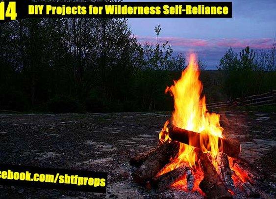 14 DIY Projects for Wilderness Self-Reliance - SHTF Preparedness