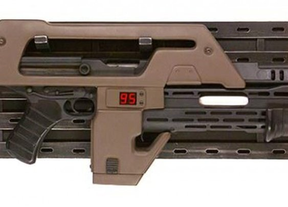 Aliens M41A conversion. Yes it shoots real bullets - The Firearm Blog