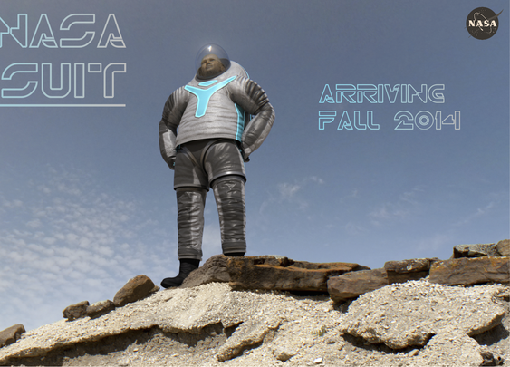 NASA's Next Prototype Spacesuit has a Brand New Look, and it's All Thanks to You. | NASA