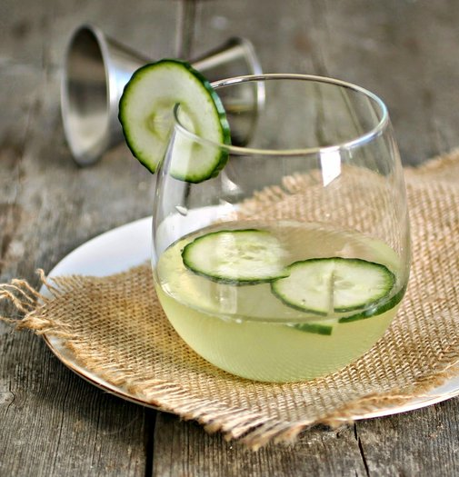 A Cocktail Life: Gin and Cucumber Smash