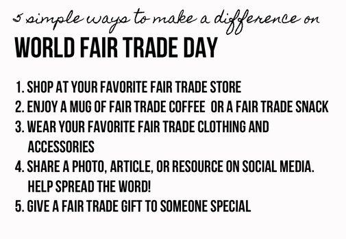 Fair Trade Federation   :  Celebrate World Fair Trade Day