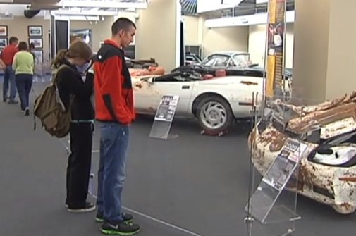 National Corvette Museum may preserve sinkhole as tourist attraction