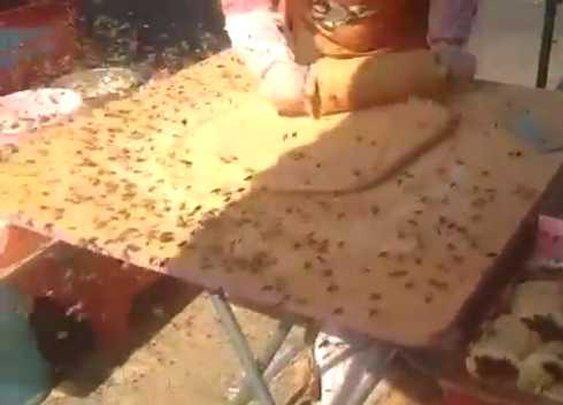 I like my rice cakes like I like my coffee... covered in bees!