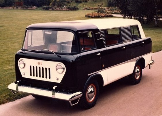 Mike Mitchell's Tumblr of Amazing Things. - The 1958 Jeep FC-150 passenger van, of which only...