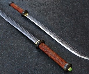 Make A Barbarian's Sword