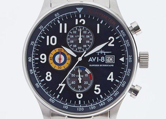 Hawker Hurricane Chronograph Date Watch