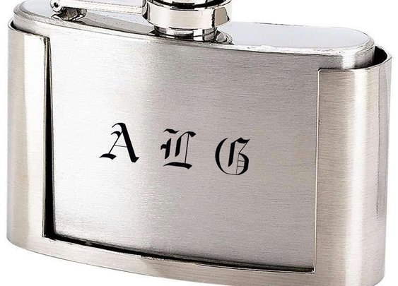 3oz Belt Buckle Flask