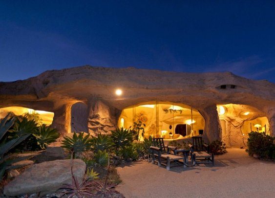Flintstones Style House In Malibu | Home Adore