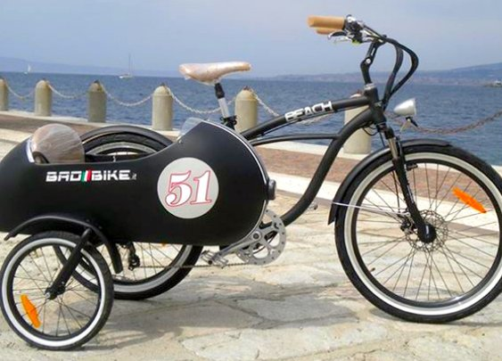 An Electric Sidecar Bicycle, How Cool Is That? [Photo Gallery]