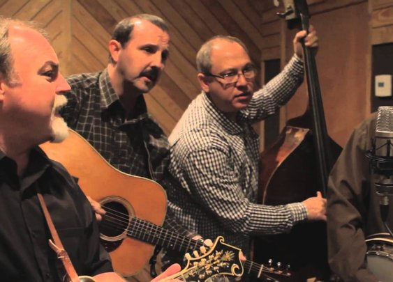 'Enter Sandman' Bluegrass Cover -- Iron Horse