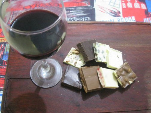 Ménage á Trois: Chocolate and Wine Pairing with a Twist