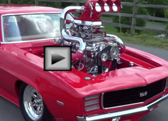 MONSTER 69' CAMARO SS TWIN TURBO, SUPERCHARGED+NOS - AMERICAN MUSCLE CAR | Hot Cars