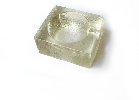 Vintage 1960s modernist scandanavian Dansk art glass by evaelena