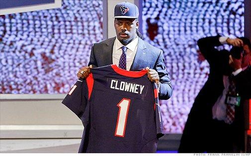 NFL players warn rookies: Stop spending! - May. 10, 2014