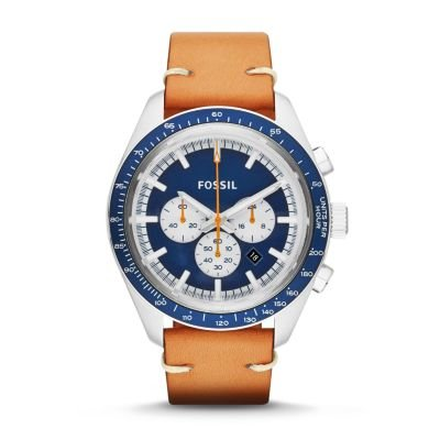 Fossil Edition Sport Chronograph Leather Watch - Tan CH2912 | FOSSIL®