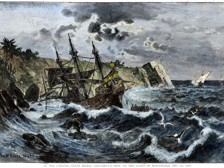 Found after 500 years, the wreck of Columbus's Santa Maria