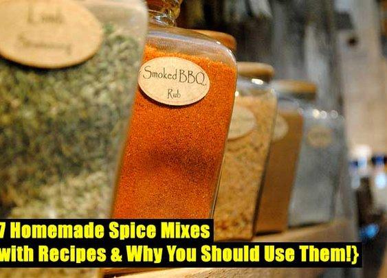 17 Homemade Spice Mixes - SHTF Preparedness