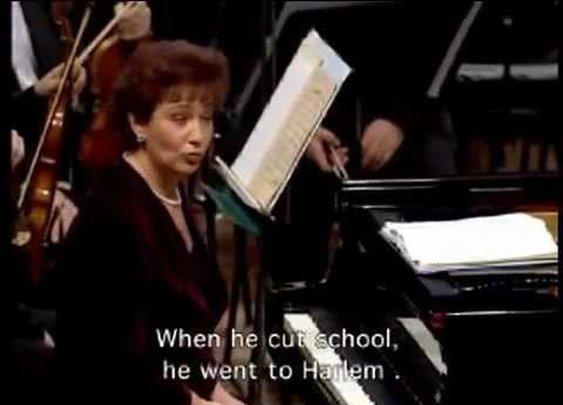 Astrith Baltsan Gershwin with Israeli Philharmonic אסתרית בלצן - YouTube