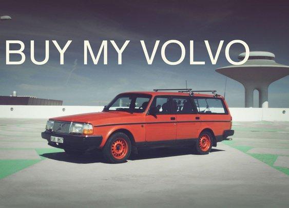 Buy My Volvo (English) - YouTube